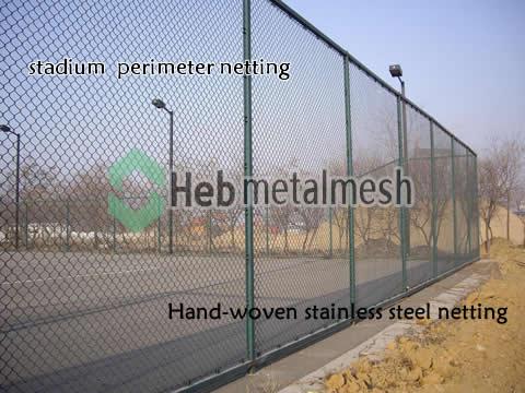 stadium perimeter netting