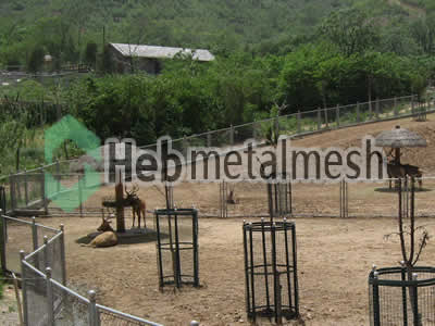 zoo enclosures for deer exhibit, deer protection netting, deer barrier netting for sale