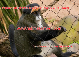 manufacturer of Monkey control fence, Monkey enclosures parrier netting