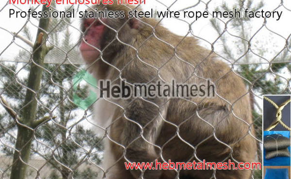 wire netting for monkey exhibits, best wire mesh for monkey cage & monkey enclosures