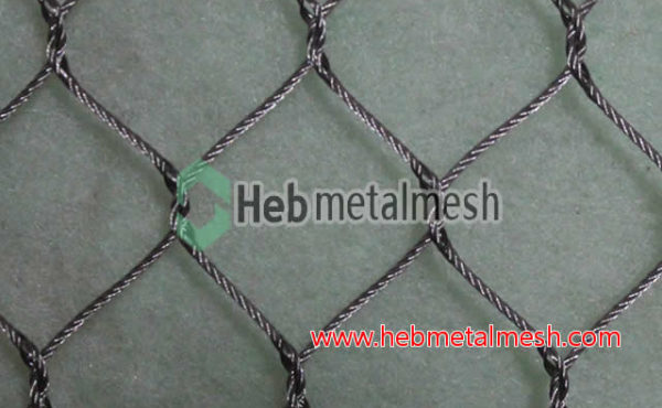 Rope mesh, stainless rope mesh, stainless steel rope mesh fence panels factory supplies